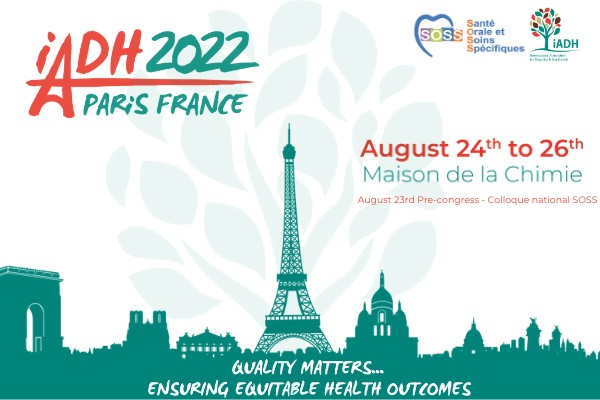 International  iADH Conference - Paris 2022